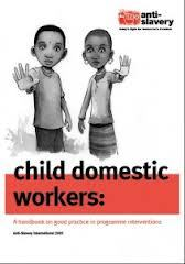 portada Child domestic workers: a handbook on good practice in programme interventions