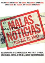 portada Malas noticias (Too big to fail)