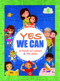 portada Yes we can. A book of values & life skills. 4.