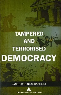 portada Tampered and terrorised democracy.